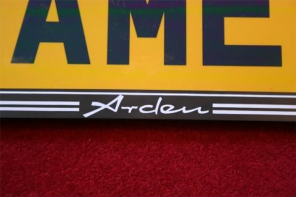 Arden Number Plate Surround